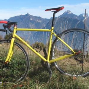 """Vélo Route-Randonnée cadre Acier """"dawelo"""" – taille M/L"""