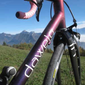 """Vélo Route-Randonnée cadre Acier """"dawelo"""" – taille S"""