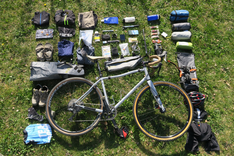 De l'art du Bikepacking